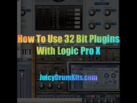 Run 32 Bit Plugins Logic Pro X 32 Lives - JuicyDrumKits com