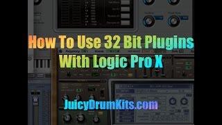 Run 32 Bit Plugins Logic Pro X 32 Lives - JuicyDrumKits.com