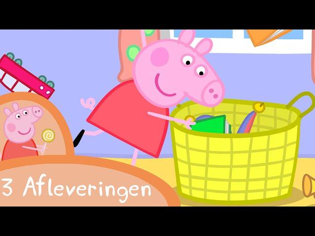 Peppa Pig Nederlands Compilatie Nieuwe Afleveringen | Mr de dinosaurus is kwijt | Tekenfilm