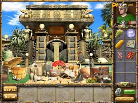 Остров секретов, прохождение - ворота в храм