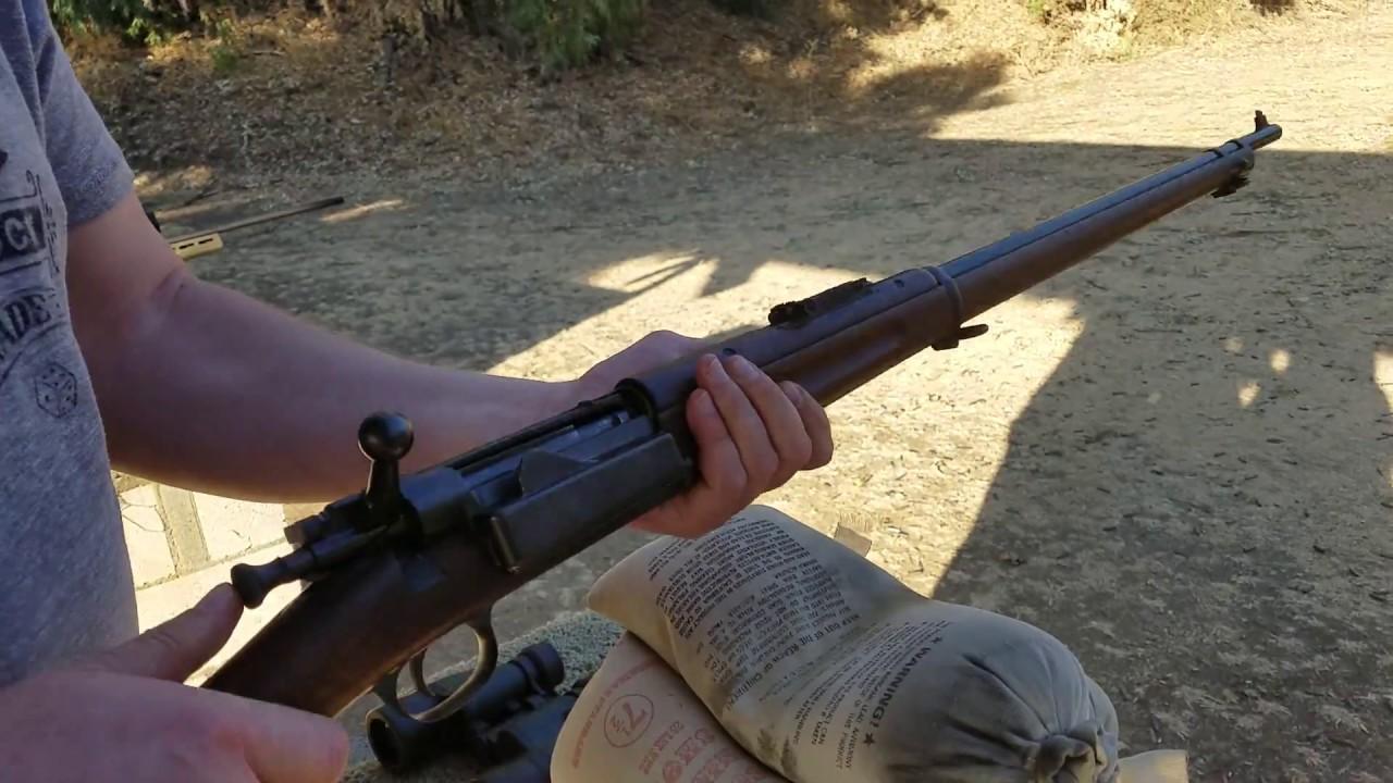 Пистолет маузера с96 9мм