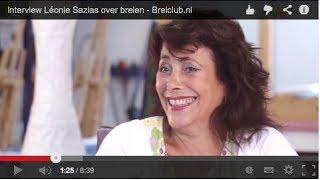 Interview Léonie Sazias over breien - Breiclub.nl