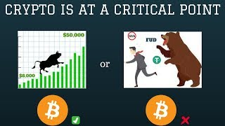 Cryptocurrency Is at a Critical Point. ($50,000 Bitcoin?)