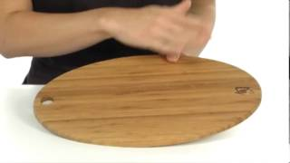 Shun - Bamboo Oval Cutting Board Sku:#7818026