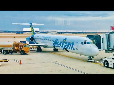 TRIPREPORT | Allegiant | Rockford(RFD)-Sanford(SFB) | MD-83 | Economy