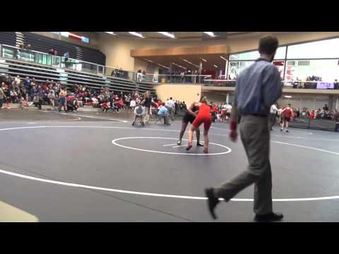 2014 SFU International 55 kg Daylynn McKay vs Beatrice Bautista