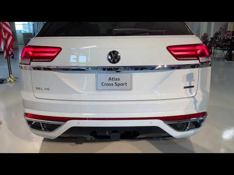 2020 Volkswagen Atlas Cross Sport - 2020 VW Atlas CrossSport – Built in America for Americans