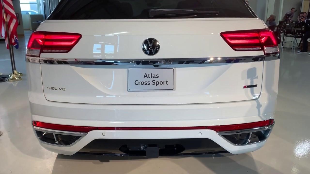 2020 Volkswagen Atlas Cross Sport - 2020 VW Atlas CrossSport – Built in America for Americans