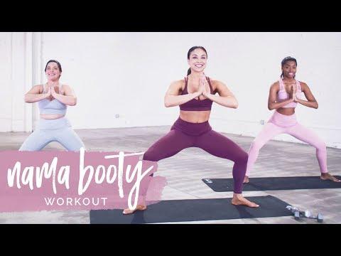 Nama Booty! The BEST Yoga Toning Workout thumbnail