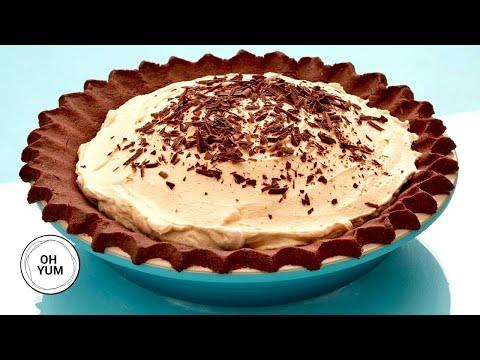 Anna Bakes A Deep Dish Chocolate Peanut Butter Pie! | Anna Olson Archives