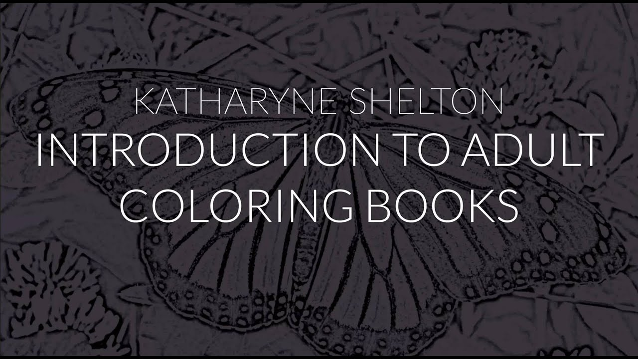 Introduction To Creating Coloring Books For Adults
