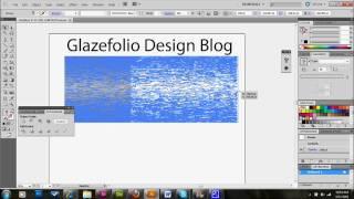 Illustrator Tutorial Brushed Metal Pattern | Glazefolio Design Blog
