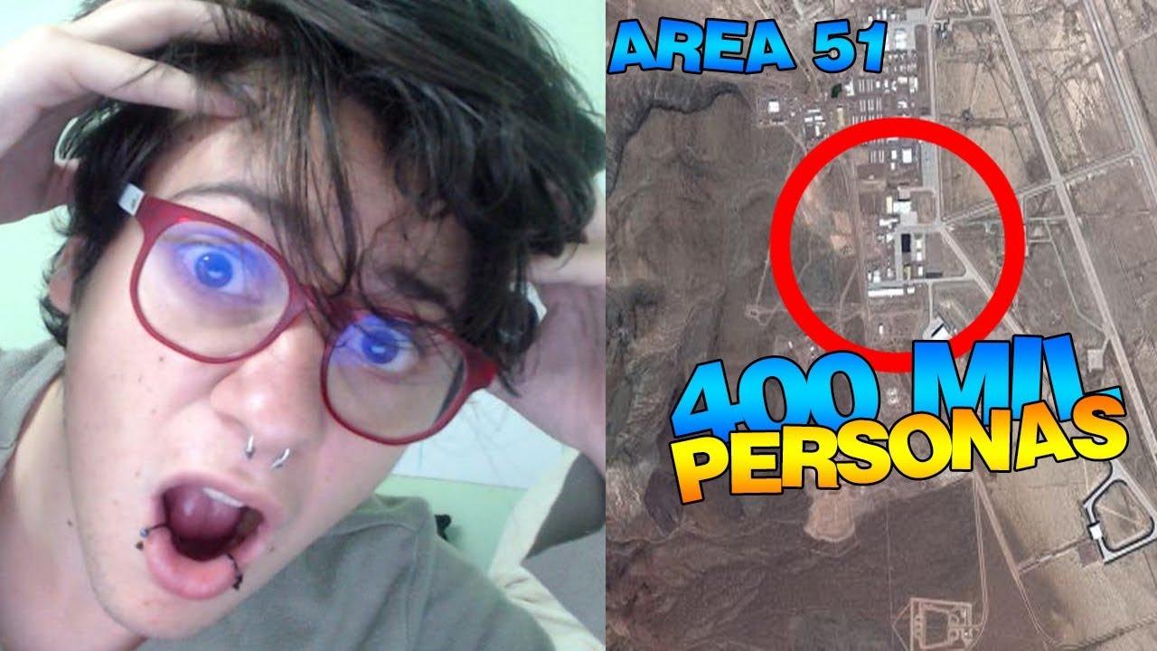 Mas de 400 MIL personas invadirán EL AREA 51 | Vídeo reacción | Momzy