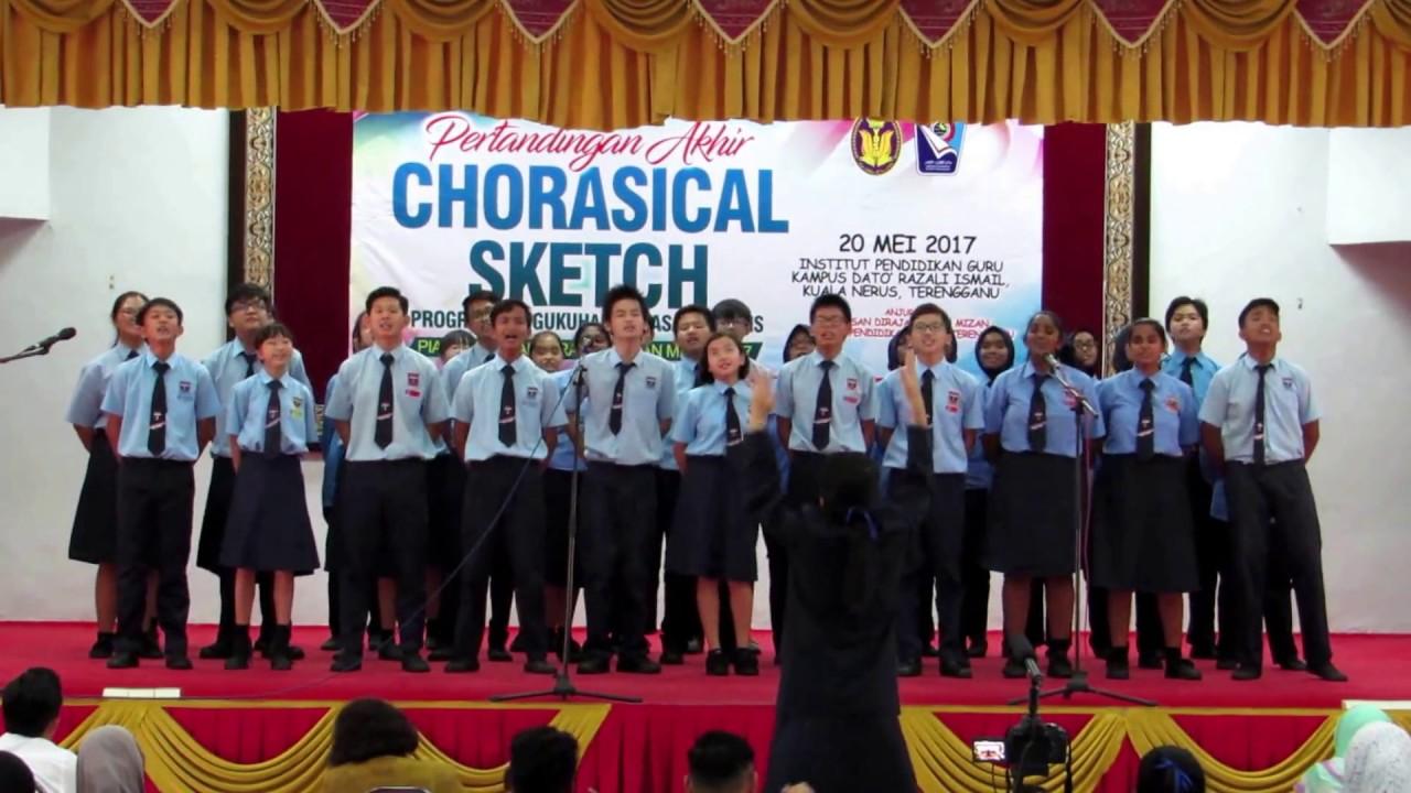 Smk Chws Team Champions Of Chorasical Sketch Competition Piala Yayasan Diraja Sultan Mizan 2017 Youtube