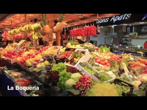 Barcelona - Food Markets