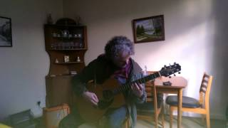 Fingerstyle guitar. Mourning Air.