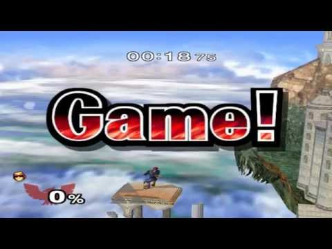 Super Smash Bros. Melee - All-Star Mode (Very Hard, No Recovery Items)
