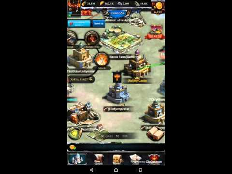 Clash Of Kings Upgrading To Lvl 25 Castle And More