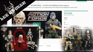 Action Force! Crowdfunding for a new toy line! Let Us Geek