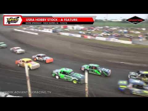 Sportsman/Hobby Stock Features - Rapid Speedway - 7/12/19