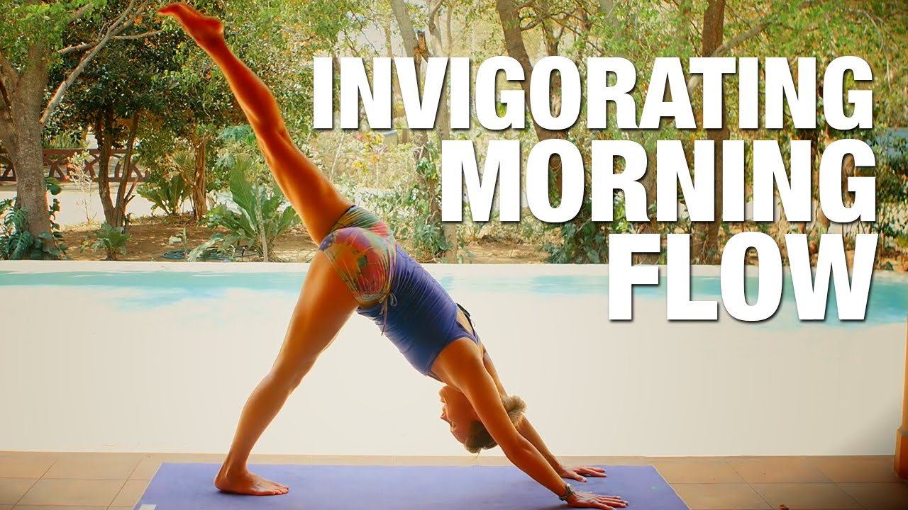 Invigorating Morning Flow Yoga Class Five Parks Yoga Youtube