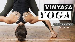 Yoga Vinyasa Flow | Ashtanga inspiriert | dynamisch & kraftvoll | 15 Minuten Mittelstufe