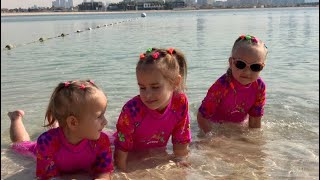 ВЛОГ Идем Atlantis the palm в Дубаи Гуляем в Дубай Молл Алина Юляшка и Алиса играют  VLOG