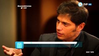 Economía sin corbata - Entrevista a Axel Kicillof (2 de 2) 20-04-15