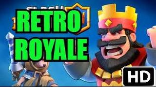 Clash Royale | Special Challenge: RETRO ROYALE!!