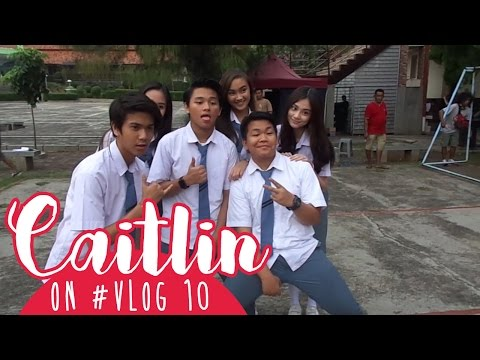 Caitlin On #VLOG 10 - Last Day Production 🌸