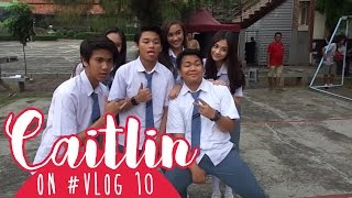 Download Video Caitlin on #VLOG 10 - Last Day Production 🌸 MP3 3GP MP4