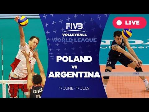 Poland v Argentina - Group 1: 2016 FIVB Volleyball World League
