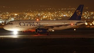 Cyprus Airways Last Flight CY337 from Athens-Larnaca