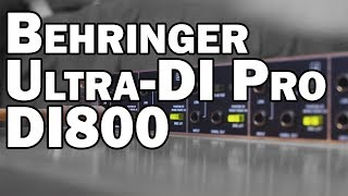 Behringer ULTRA-DI PRO DI800 Direct Box