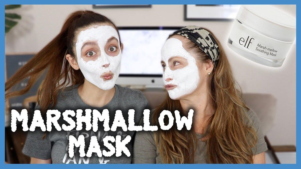 $10 MARSHMALLOW MASK.. Amazing for DRY SKIN?!   Monday Masks With Mami