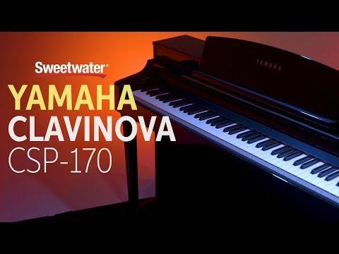 Yamaha Clavinova CSP-170 Digital Piano Review