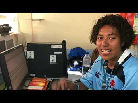 Fiji a Classics rugby team in training