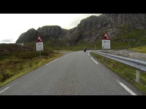 MC roadtrip Norway 2014 Suleskaret-Lysebotn GopPro HD