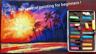 Soft Pastel Painting For Beginners Step By Step | Online Class For Kids