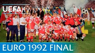 Denmark v Germany: UEFA EURO 92 final highlights