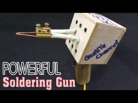 How To make Powerful Soldering Gun using old transformer