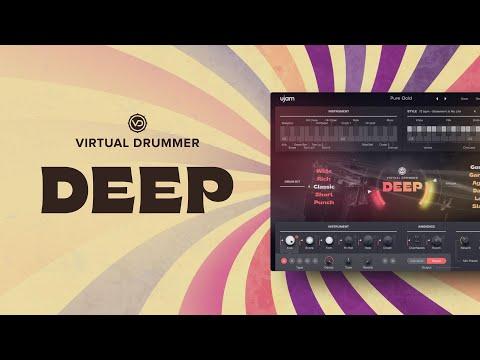 @ujam Instruments presents: Virtual Drummer DEEP