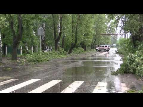 Последствия урагана в Собинке (10.07.2015) Видео ГУ МЧС России по Владимирской области