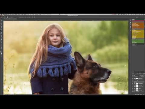 How to use Luxe Creative Workflow Photoshop Actions