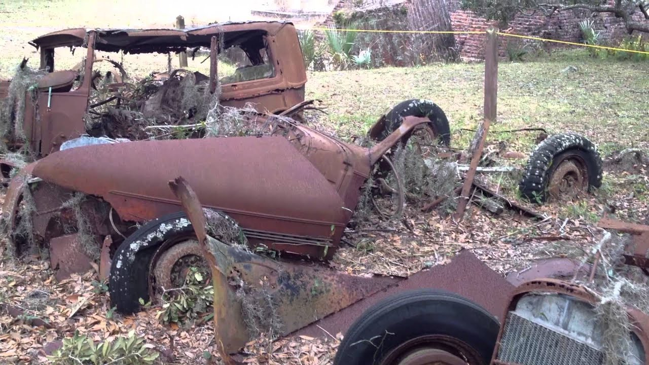 Very Old Rusty Abandoned Forgotten Cars: Cumberland Island GA ...