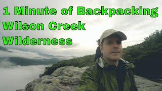 Wilson Creek Backpacking 2018 short video
