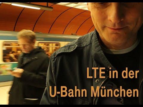 Social Media Post: Schnelles Internet in U-Bahn - Telekom schaltet LTE in Münchner...