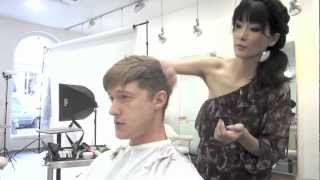 Dry Hair Cut (men's natural style)
