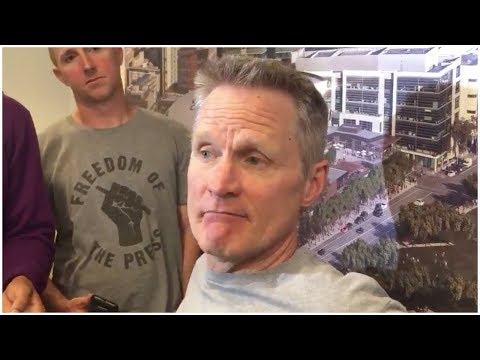 Steve Kerr on Houston traveling early to the Bay: They disrespected the Clippers but we did too