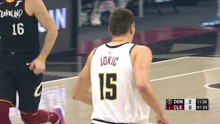 HIGHLIGHTS: Nikola Jokić drops seventh triple-double of season vs. Cavaliers (02/19/2021)